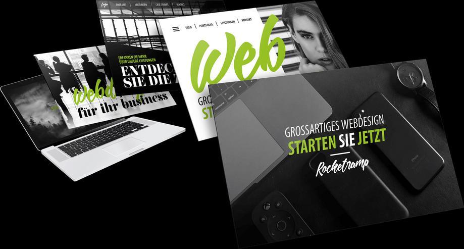 Professionelles Webdesign. Wir erstellen Ihnen eine Webseite der Extraklasse!
