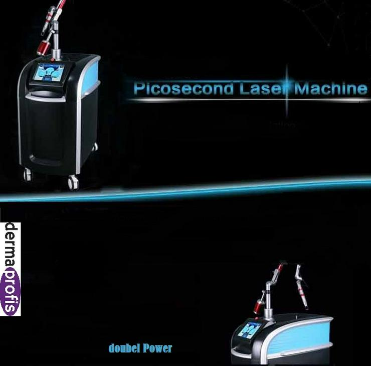 Picosekunden Laser Profi   Grosses Standgerät auf Rollen im Alukoffer