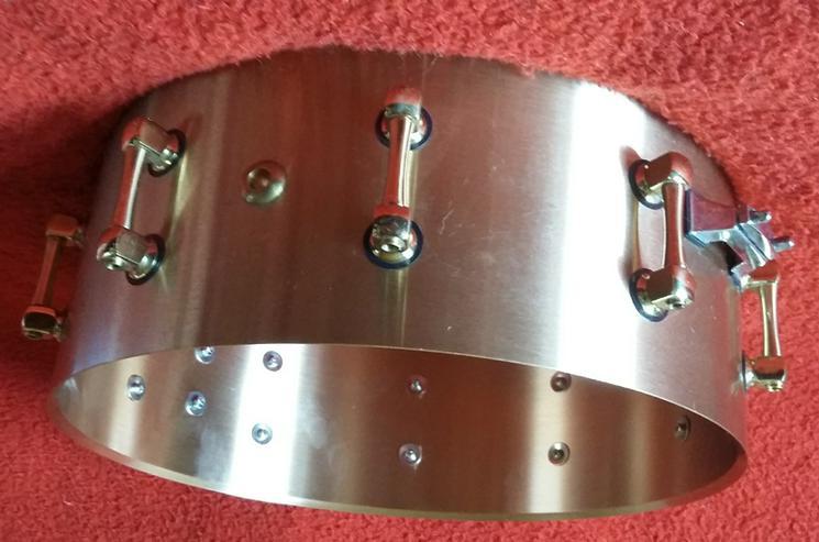 """Bild 3: Bell Brass Snare Drum 14"""" x 5,5"""""""