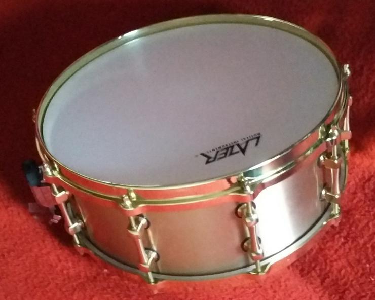 """Bell Brass Snare Drum 14"""" x 5,5""""  - Schlaginstrumente - Bild 1"""