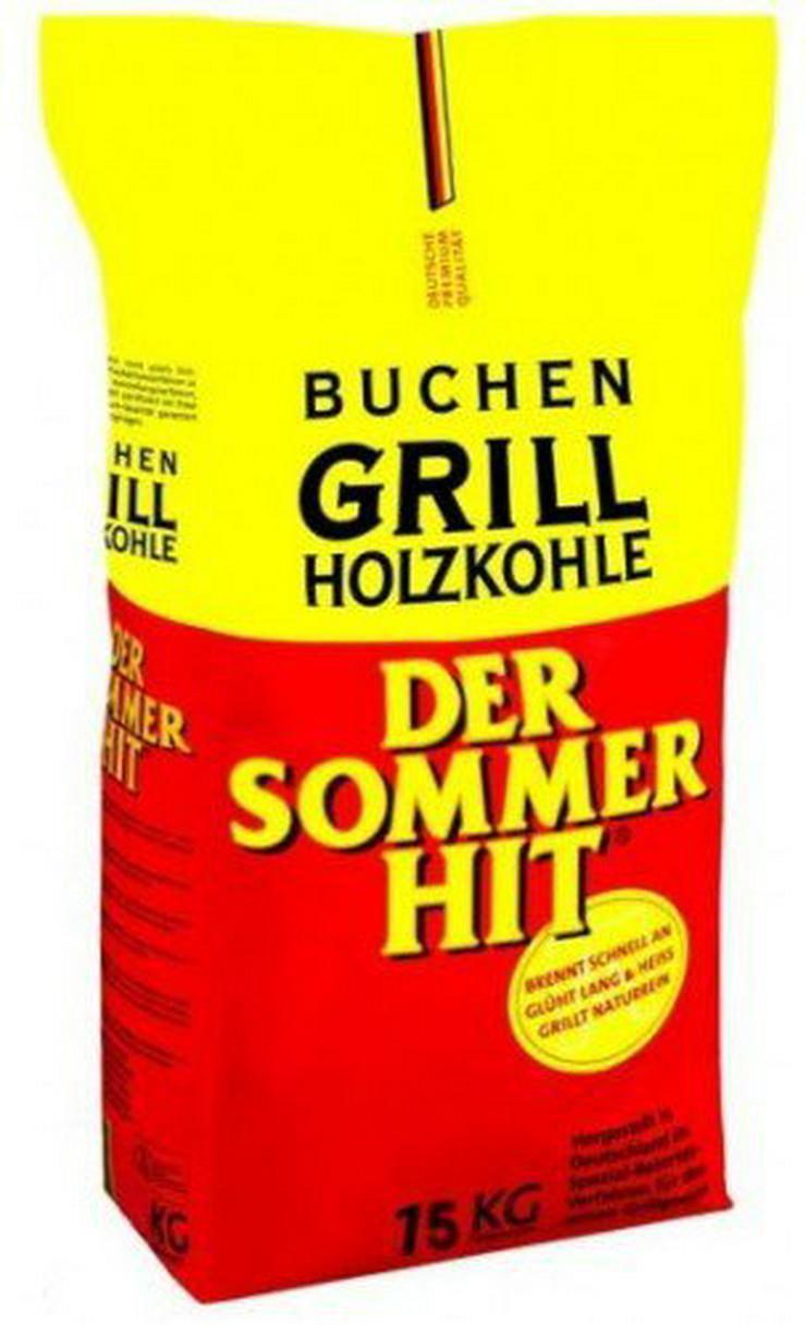 2 Sack Sommerhit Holzkohle a:15 Kg (kein Versand) - Zubehör - Bild 1