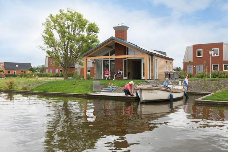 Ferienwohnung in Friesland am Wasser (NLD) ⭐️⭐️⭐️⭐️ Öko gebaut