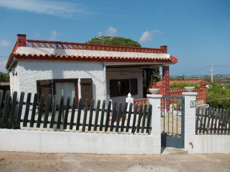 Spanien, kleines Haus mit Meerblick in Peniscola zu verkaufen