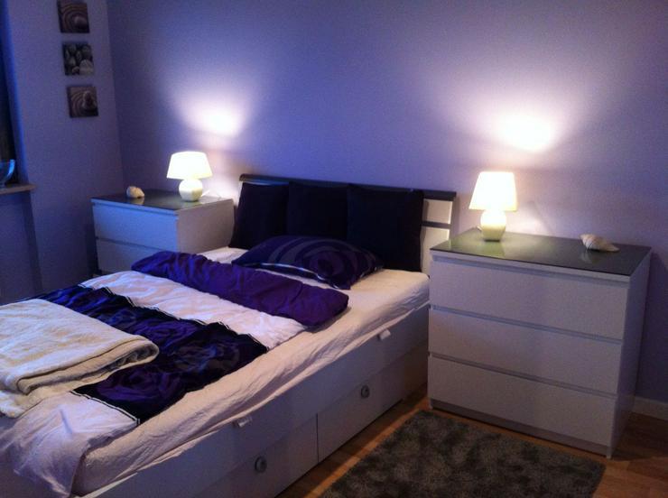 Bett mit Schubladen weiß, nur kurz verfügbar wegen Umzug