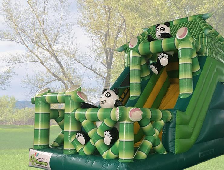 Riesen Panda Rutsche für den Garten, für Feste und mehr - günstig mieten und Neumünster und Umgebung