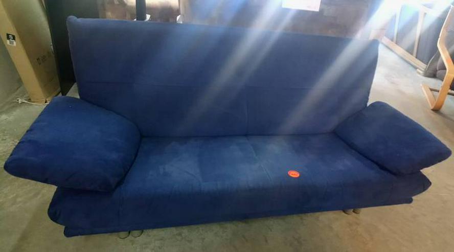 Couch Sitzcouch Sofa - blau