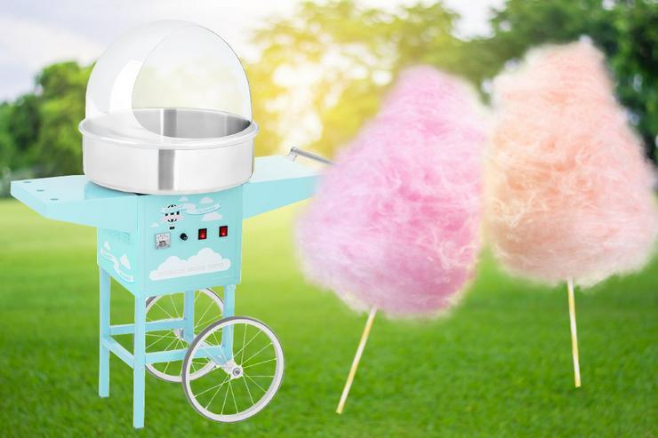 Zuckerwattemaschiene zum mieten - günstig - einfach - mega cool!