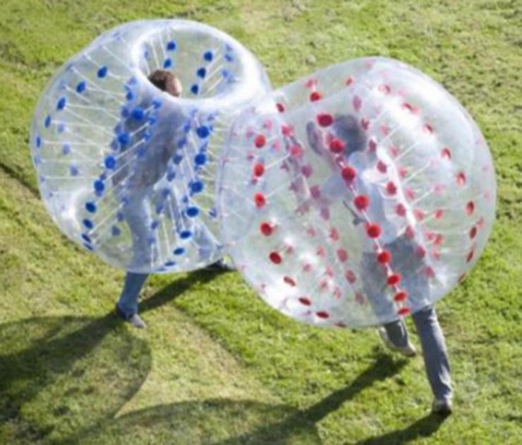 Zorbing Bälle / Fussball für Firmenfeste, Geburtstage und mehr - einfach & günstig mieten