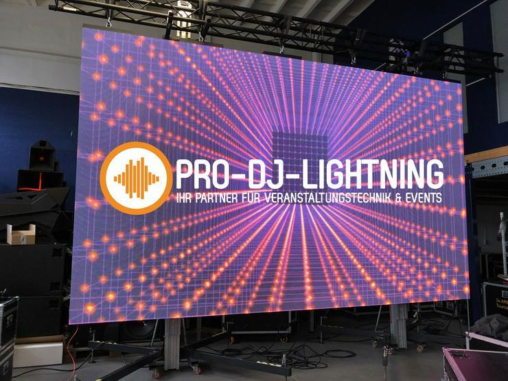 Verleihangebot LED Videowall Videowand LED Wand Outdoor + Indoor  - Party, Events & Messen - Bild 1