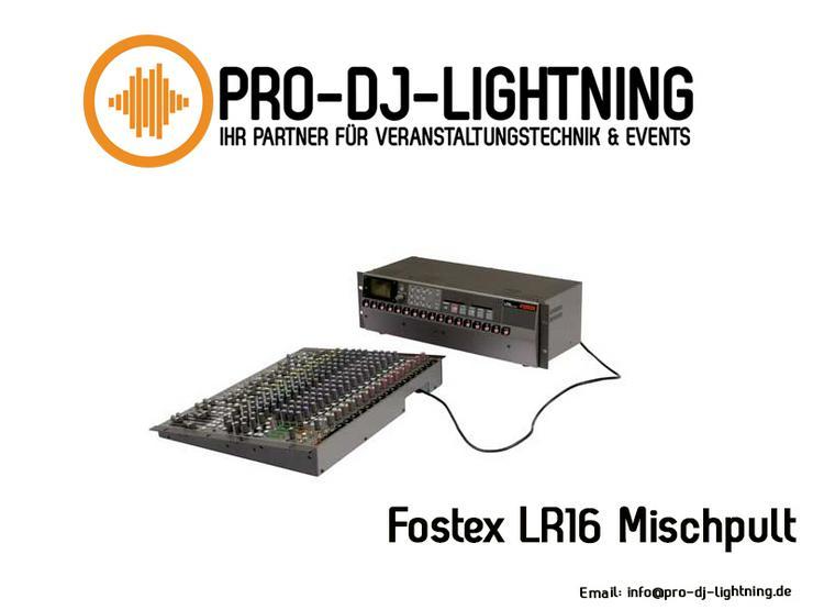 Fostex LR16 Digitalmischpult mieten - für Live- und Studioanwendungen - Party, Events & Messen - Bild 1