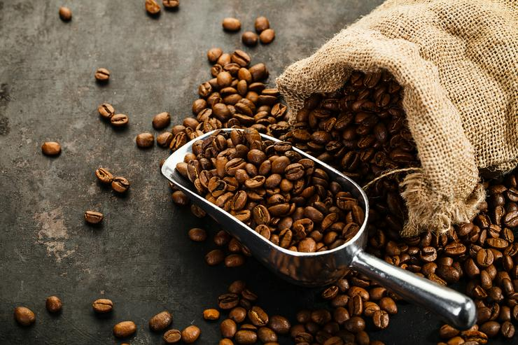 Arabica Kaffeebohnen, Robusta Kaffeebohnen - Kaffeebohnen - Bild 1