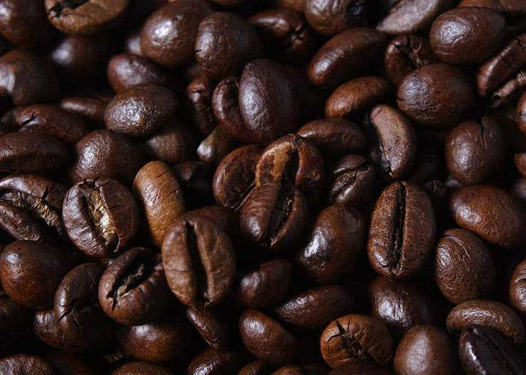 Bild 2: Arabica Kaffeebohnen, Robusta Kaffeebohnen