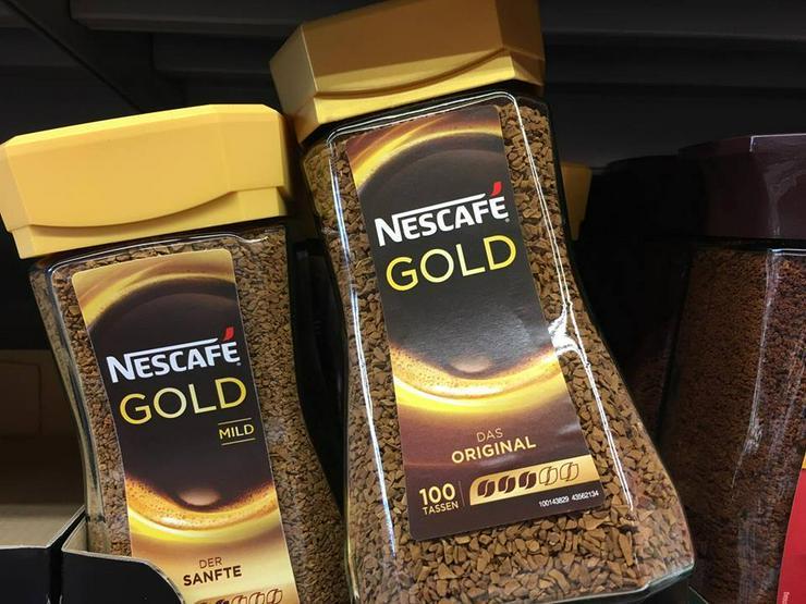 Bild 6: Nescafe Gold for sale