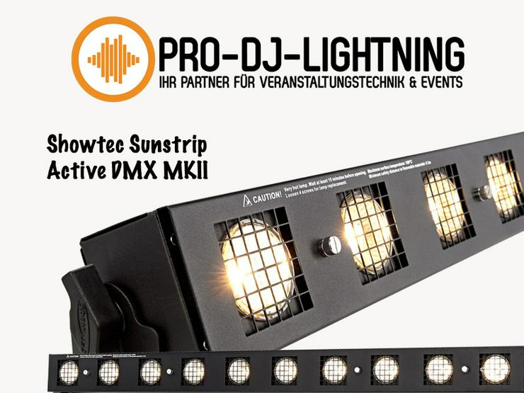 Bühnenlicht - Showlicht - Special Effects - Showtec Sunstrip Active DMX MKII Spezialeffekt mieten - Wellness, Medizin & Gesundheit - Bild 1