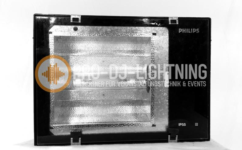 Verleih Messefluter Philips IP55 HQI Outdoor Scheinwerfer