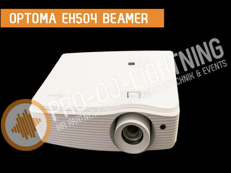Beamer Optoma EH504 Full HD Profi Projektor mieten