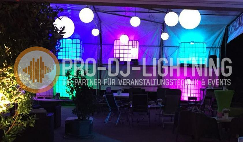 Verleih beleuchtete IBC Container für Hochzeiten, Party's, Events