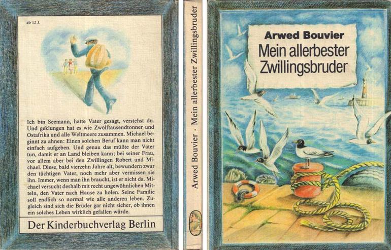 Kinderbuch von Arwed Bouvier - Mein allerbester Zwillingsbruder - 1983