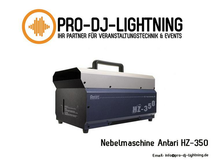 Verleih: Antari HZ-350 Hazer Fog Machine Nebel (digital, DMX) - Party, Events & Messen - Bild 1