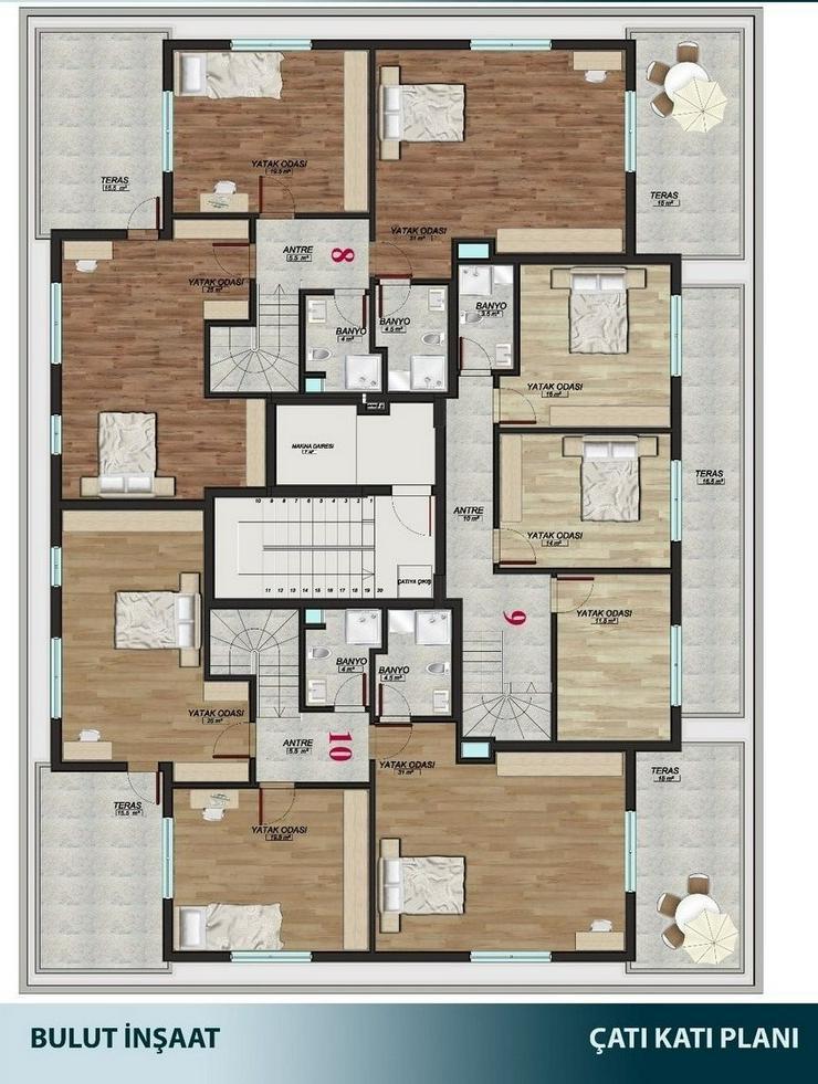 Türkei, Alanya, Budwig, große 5  Zimmer- Wohnung, zum kleinen Preis,276-4