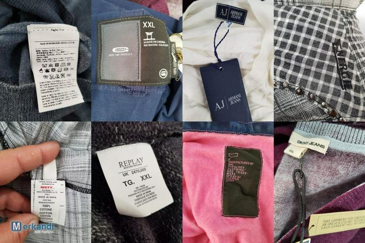 Versace, Diesel, Gas, Ralph Lauren Markenware Restposten - Größen 40-42 / M - Bild 1