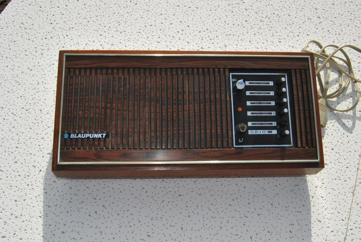 Bild 2: Absolute Rarität - Radio Heimradio Blaupunkt UPPSALA 1969 bis 1971 gebaut selten