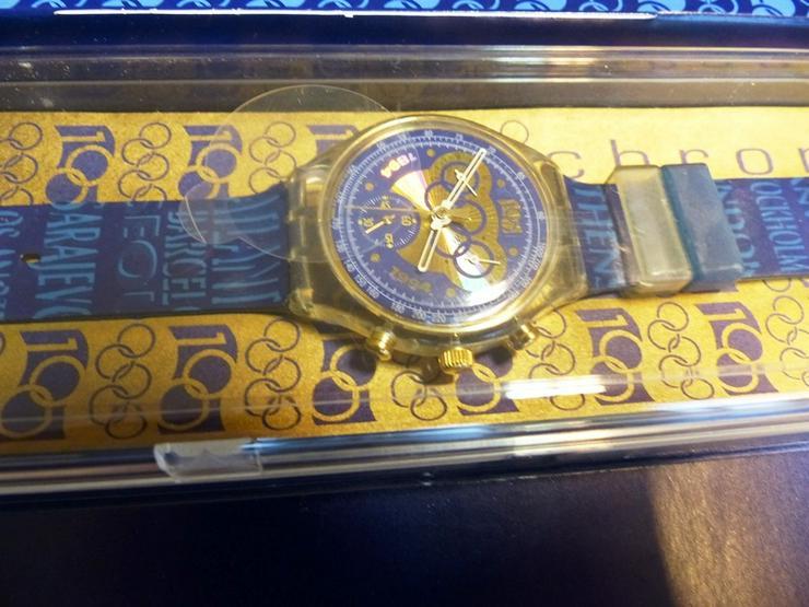 "swatch-Sammler-Uhr ""1894-1994 Olympic Movements"" - Uhren - Bild 1"