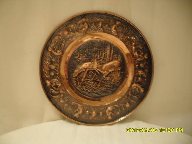 Elegante  Kupfer Wandpaneel