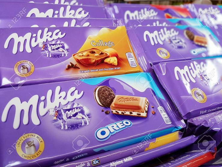 Milka-Schokolade 100 g - Süßwaren - Bild 1