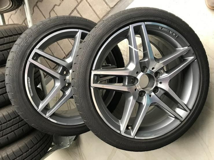 Mercedes AMG 18-Zoll Felgen