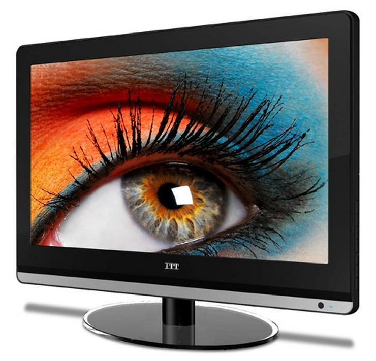 ITT LED Fernseher 19-5000 47 cm Wie neu!