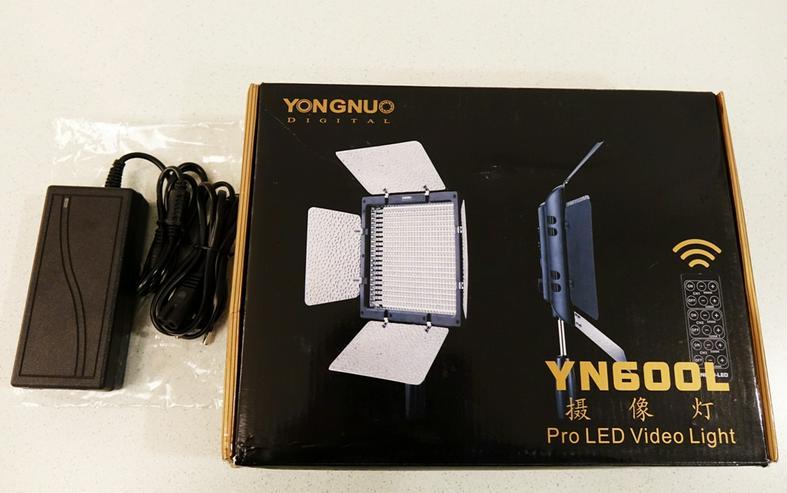 Video Light YONGNUO YN600L LED Bi-color Temperature 3200K-5500K Photography Studio