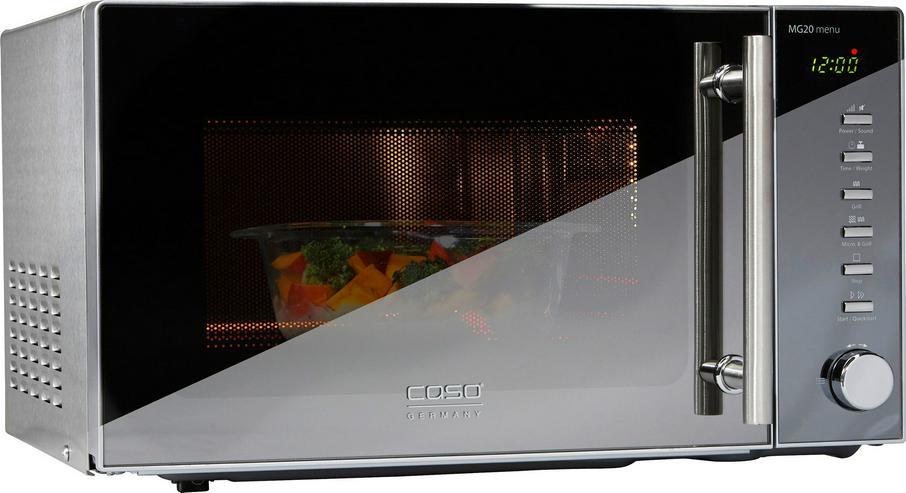Mikrowelle Caso ECO20 MG 800 Watt Mikrowelle, 1000 Watt Grill