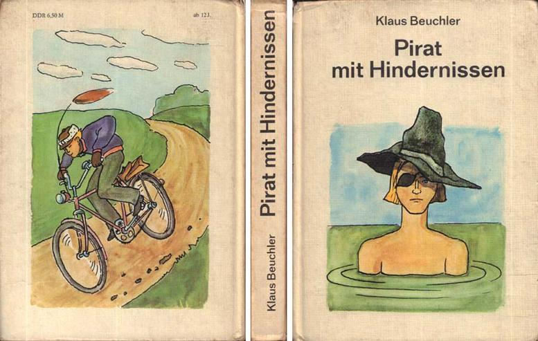 Kinderbuch von Klaus Beuchler - Pirat mit Hindernissen - von 1980