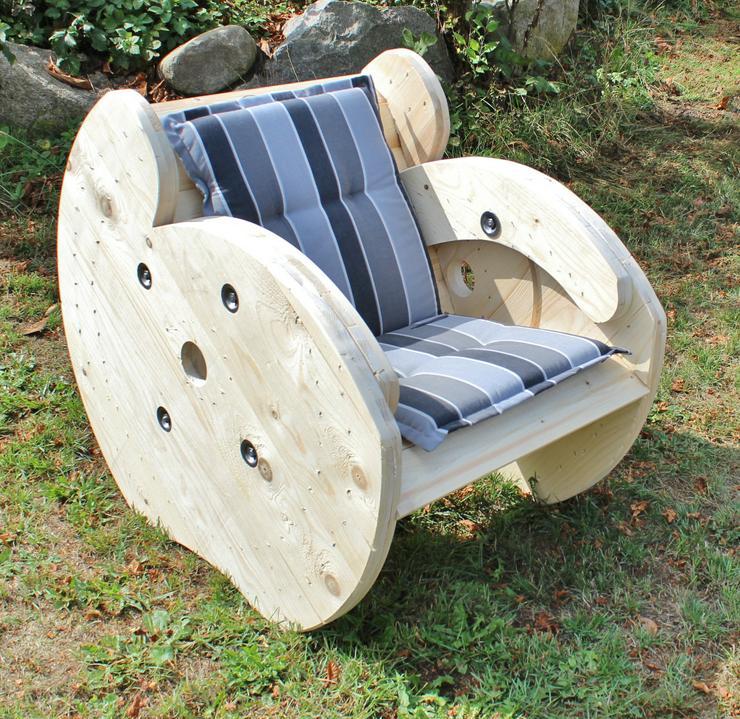 Drum-Seats - Die Möbel aus Kabeltrommeln