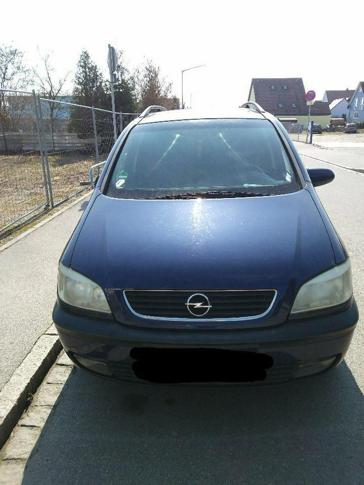 Opel Zafira A Schlachtfest