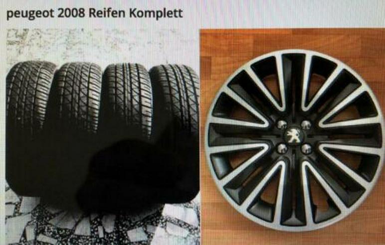 Peugeot 2008 Reifen Komplett
