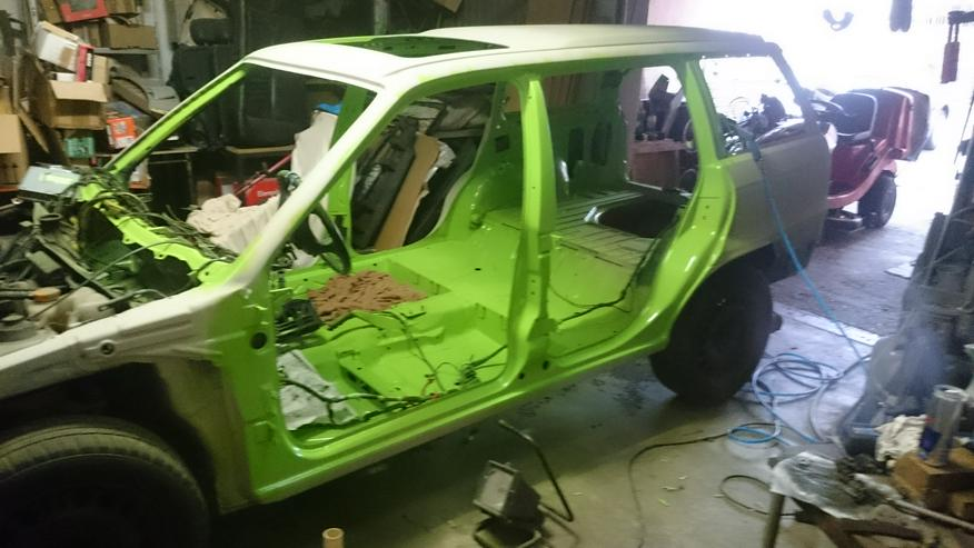 Bild 4: Opel Astra F Irmscher Projekt Aufgabe viele Teile