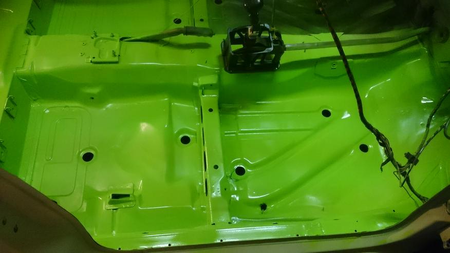 Bild 6: Opel Astra F Irmscher Projekt Aufgabe viele Teile