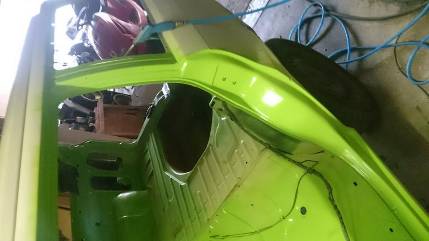 Bild 3: Opel Astra F Irmscher Projekt Aufgabe viele Teile