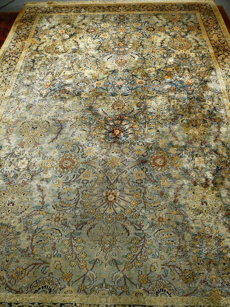 Orientteppich Kaschmir alt 283x183 (T054)
