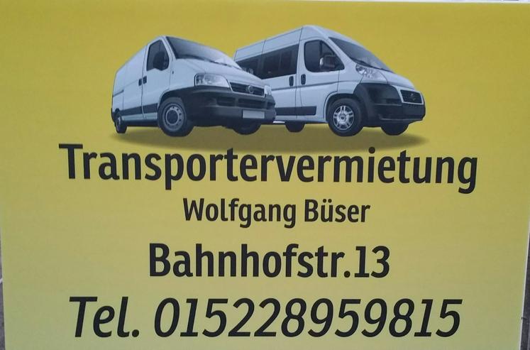 Bild 7: Transportervermietung Büser