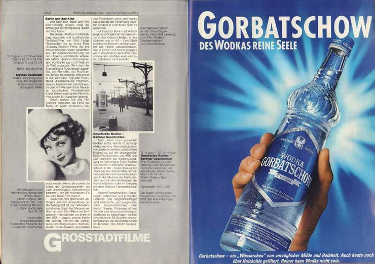 Bild 3: 37. Berliner Festwochen 1987 - September-November - Journal 3 / 750 Jahr Berlin