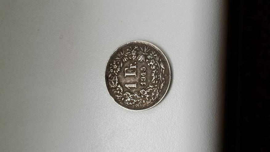 Schweizer Franken /Quarter Dollar