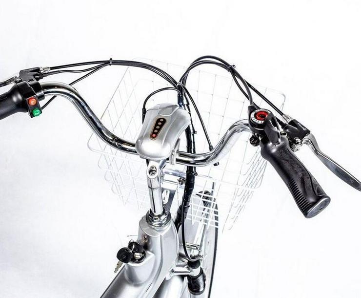 """Bild 6: Elektrofahrrad Fahrrad Grün Elektro Motor Pedelec 26"""" Akku 40kg"""