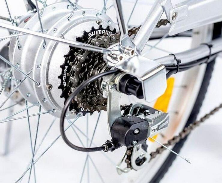 """Bild 4: Elektrofahrrad Fahrrad Grün Elektro Motor Pedelec 26"""" Akku 40kg"""