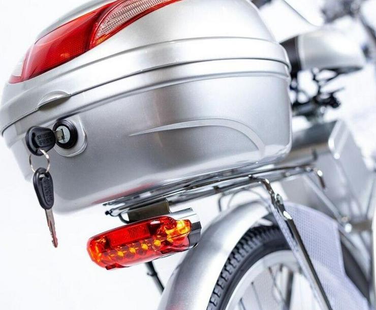"""Bild 3: Elektrofahrrad Fahrrad Grün Elektro Motor Pedelec 26"""" Akku 40kg"""