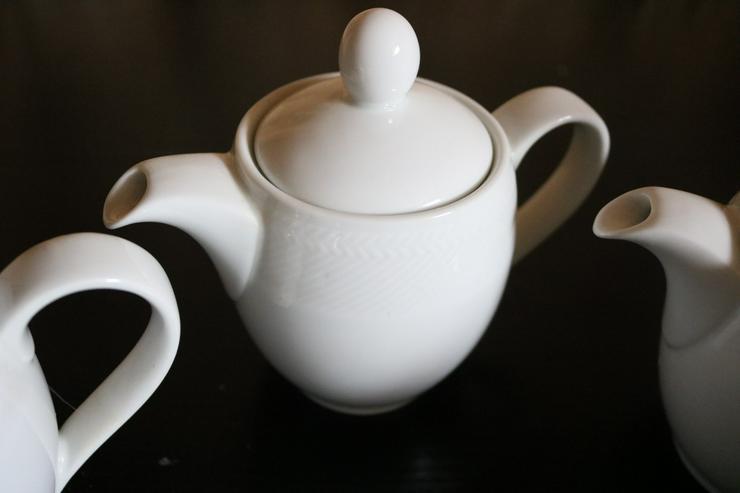 Bild 2: 5 Stck. Milchkännchen, Porzellan, Kahla, weiß