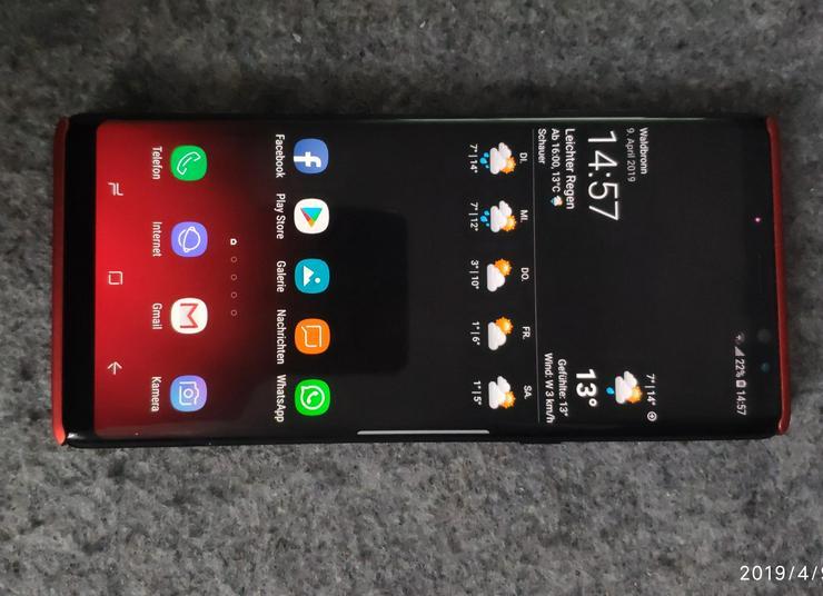 Samsung Note 8 / 128 GB Tintenschwarz