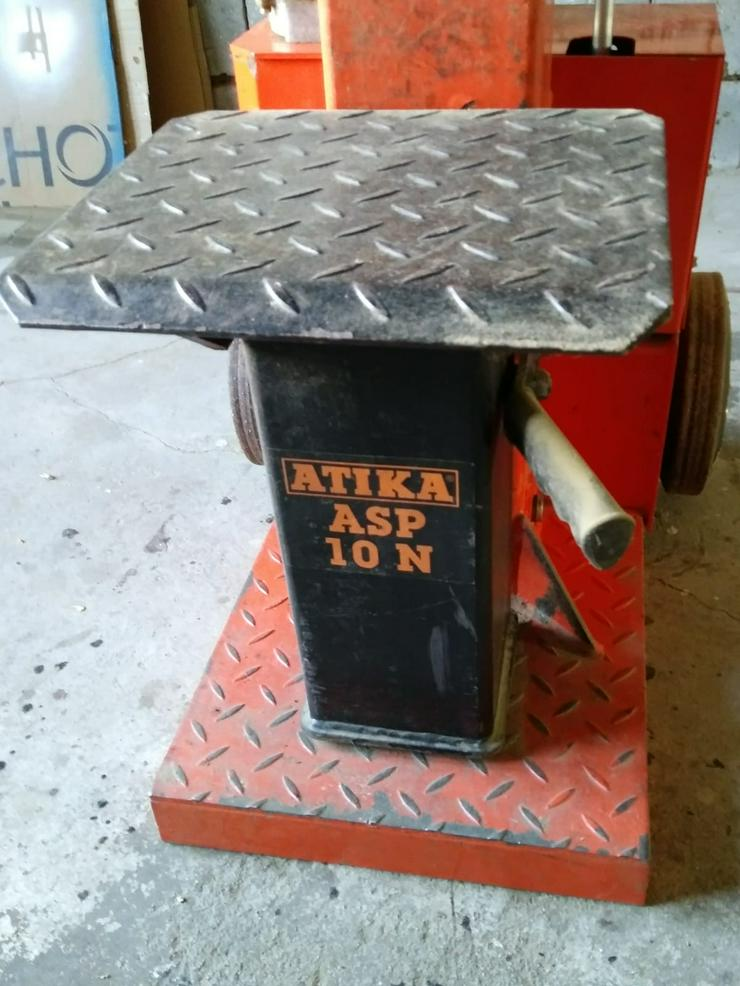 "Verkaufe Brennholzspalter ""ATIKA ASP 10 N 400 V"" mit Spaltkreuz Bj. 2012 - Weitere - Bild 1"